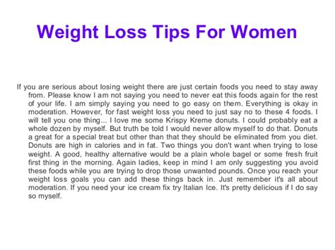 weight loss for women picture 9