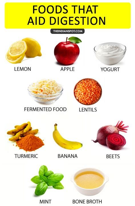 foods that aid in digestion picture 1