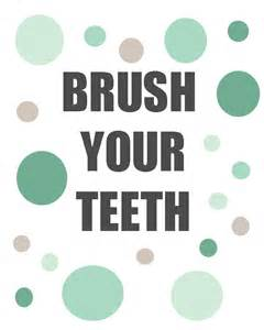 brush your teeth picture 1
