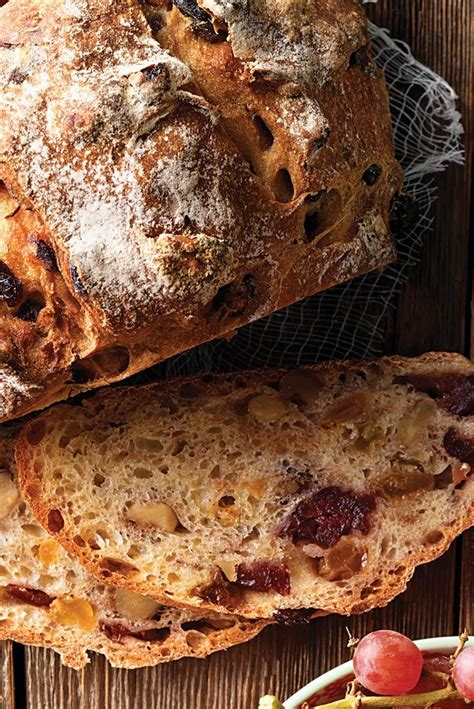 walnut raisin yeast bread recipe picture 1