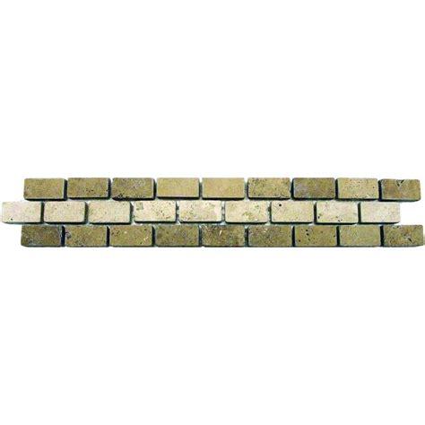 travertine mosaics tiles broken joint picture 2