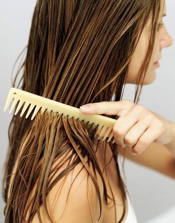 combing hair picture 17