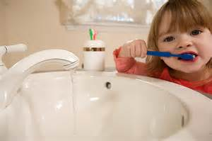 brushing teeth with bad water picture 7