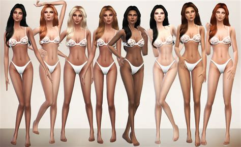 sims 3 skin cleavage picture 1