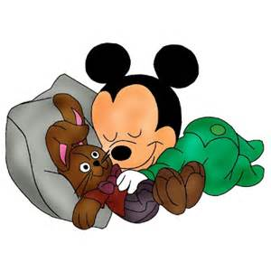 mickey mouse sleeping picture 5