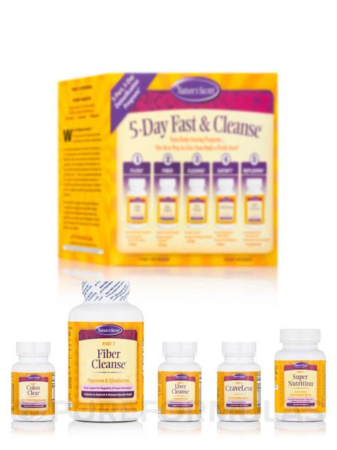 ������ nature s secret, 5-day fast and cleanse, picture 7