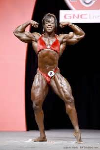 female black bodybuilders wrestling picture 5