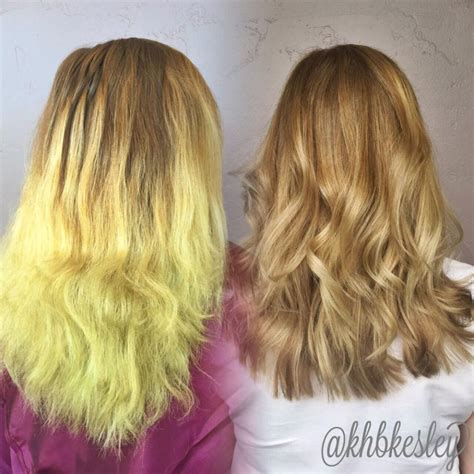 chlorine damaged hair picture 6