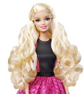 barbie long wavy hair picture 9
