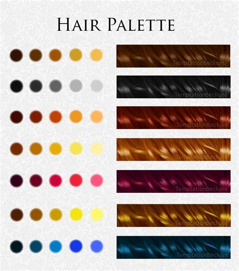 color chart for red hair dye picture 8
