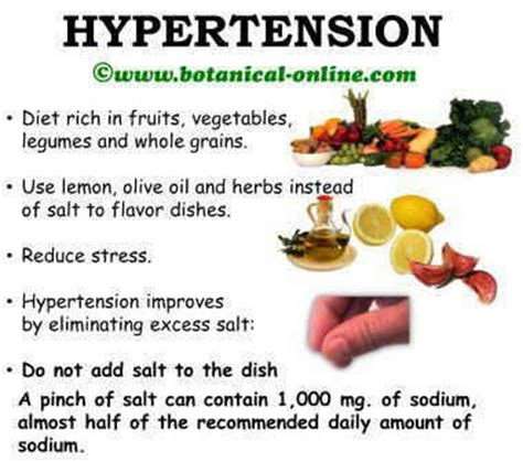High blood pressure food picture 6
