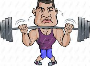 beach muscle man cartoon picture 17