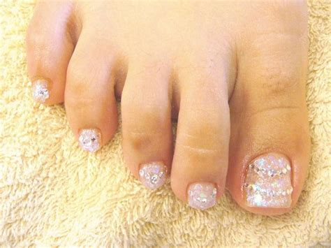 clear feet nails picture 14