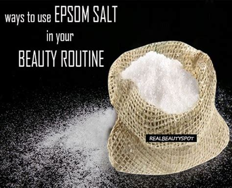 acne spot treatment with epsom salts picture 11