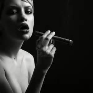 elegant smoking women picture 6