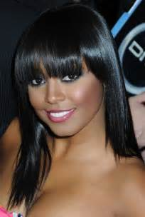 black hair photos with bangs picture 6
