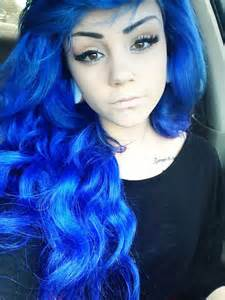 blue hair picture 6