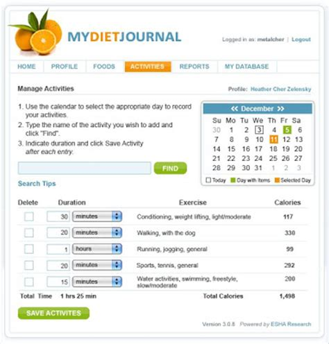aol diet journal picture 1