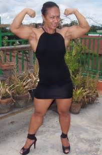 asian muscles female picture 10
