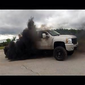 6.6 duramax blows blue smoke picture 6