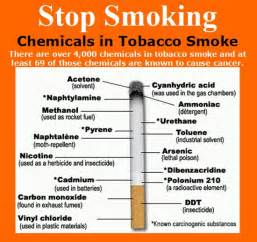 chemicals and compounds in tabacco and tabacco smoke picture 3