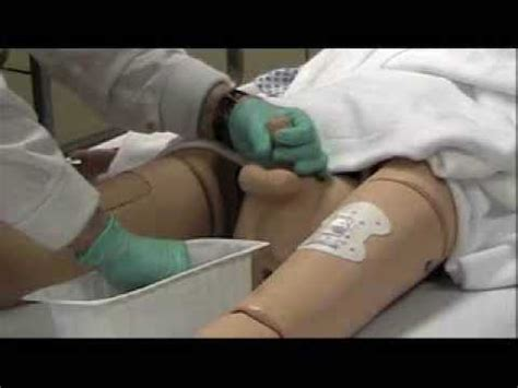 inserting catheter penis bed picture 9