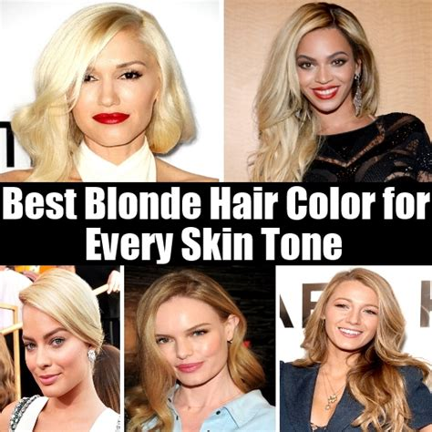 best skin tone for blonde hair picture 1