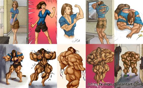fictional male muscle growth stories picture 2