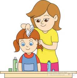 brushing h clipart picture 2