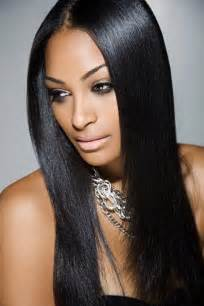 silky strait hair weaves picture 1