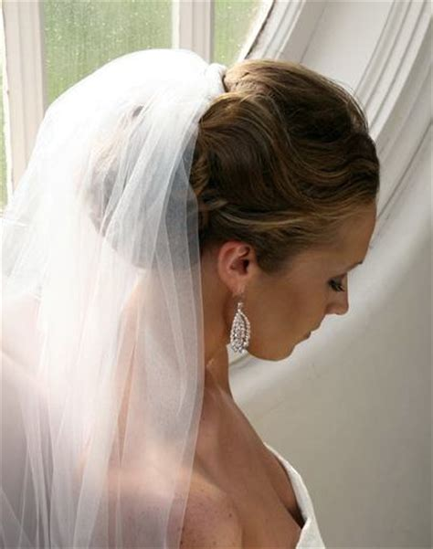 wedding hair styles wh veil picture 6