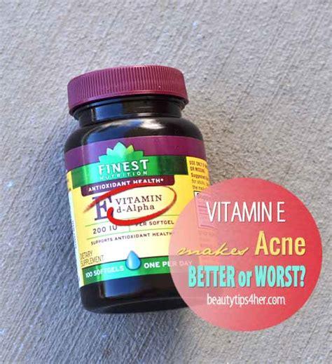 acne and vitamin e picture 1