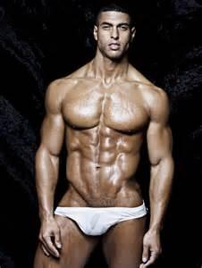 bodybuilding black hunk males picture 5