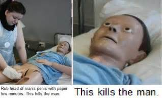 rub head of man's penis with paper picture 1