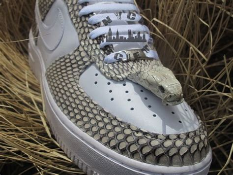 air forces1 mid skin snake picture 7
