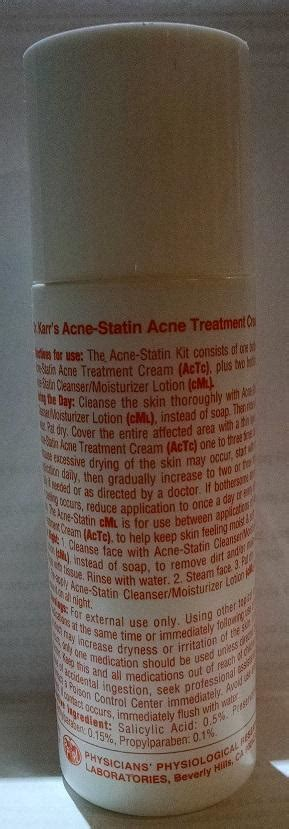 a a karr md acne statin picture 2