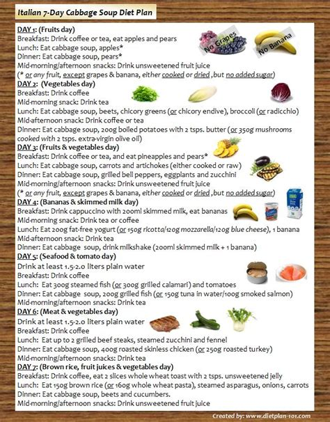cabbage soup diet plan for free picture 3