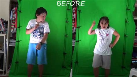 green screen poses before and after picture 6