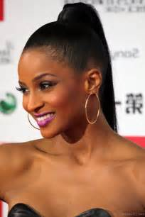 black hair ponytails picture 6