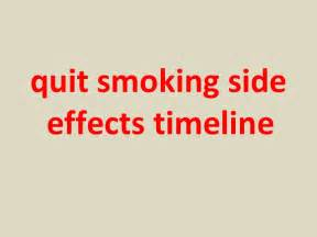 quit smoking side effect picture 6