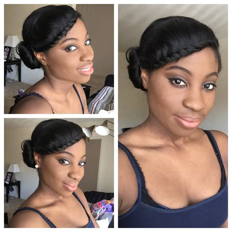 easy blk hair styles picture 10