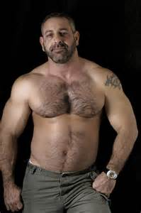 muscle bear hair picture 17