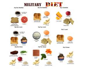 army diet picture 2