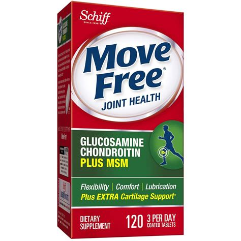 move free joint health, glucosamine chondroitin advanced plus picture 4