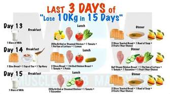 diet 15 days a month picture 3