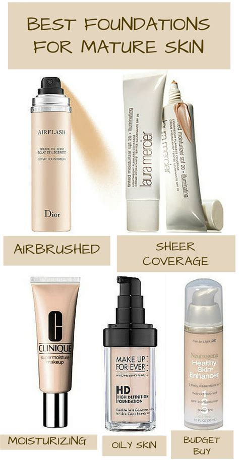 foundation for aging skin available at drug stores picture 8
