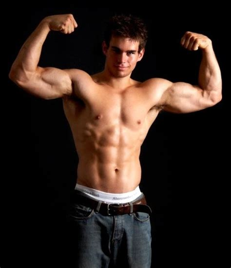 muscle men on beach picture 6