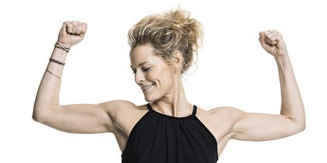 women arm wrestling flexing muscles picture 9