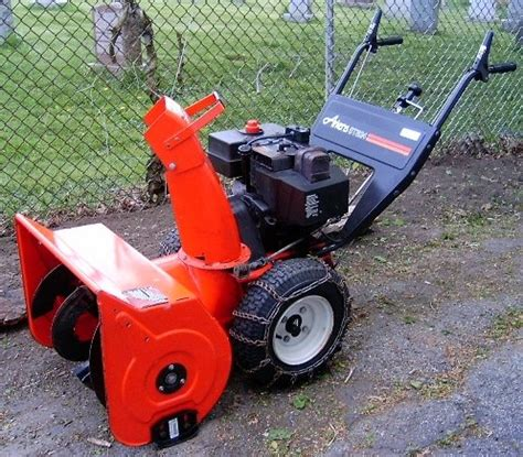ariens snowblower old hm80 picture 2