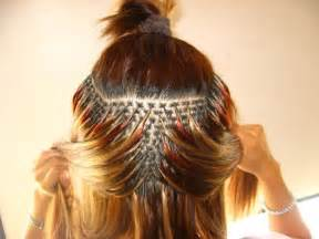 how are hair extensions done picture 14